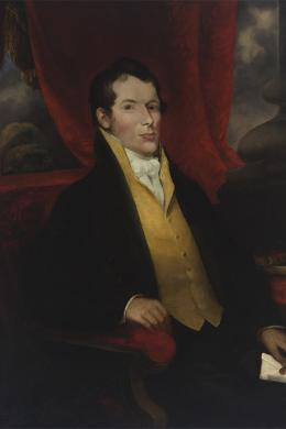 painting of John Macarthur, ca. 1850s