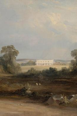 painting of Vineyard, Parramatta,1840 by Conrad Martens